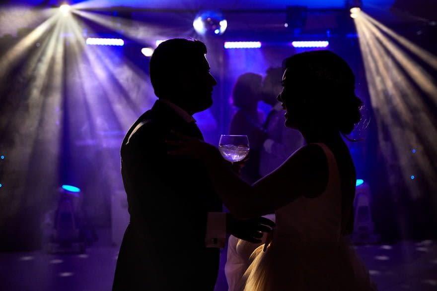 Baile de novios en Quinta Canaima de Oleiros