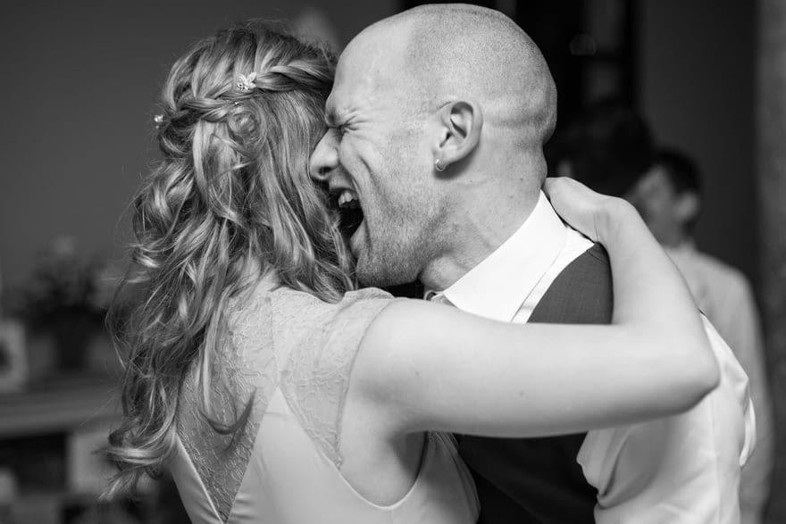 Baile durante una boda en el Salón de Los Olivos del Pazo do Tambre