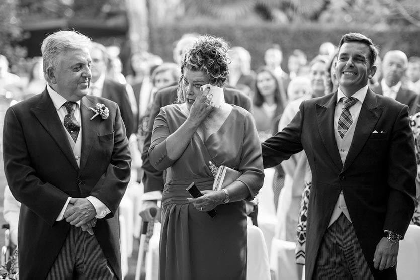 Ceremonia civil en Quinta Canaima emoción
