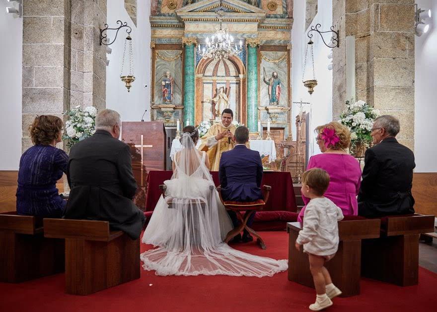 Boda en la Iglesia de Santa Eulalia de Lians