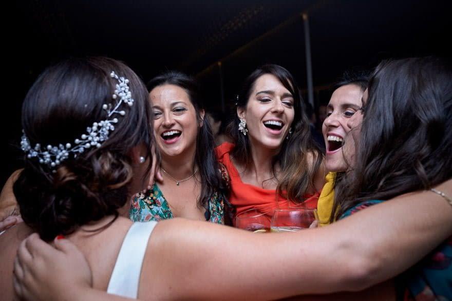 Baile en Quinta Canaima de Oleiros