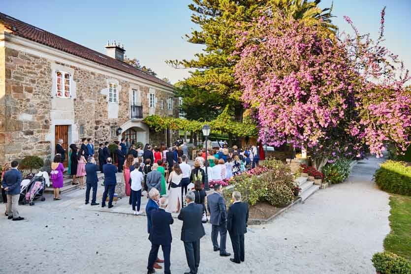 Pazo Montesclaros Ceremonia Boda