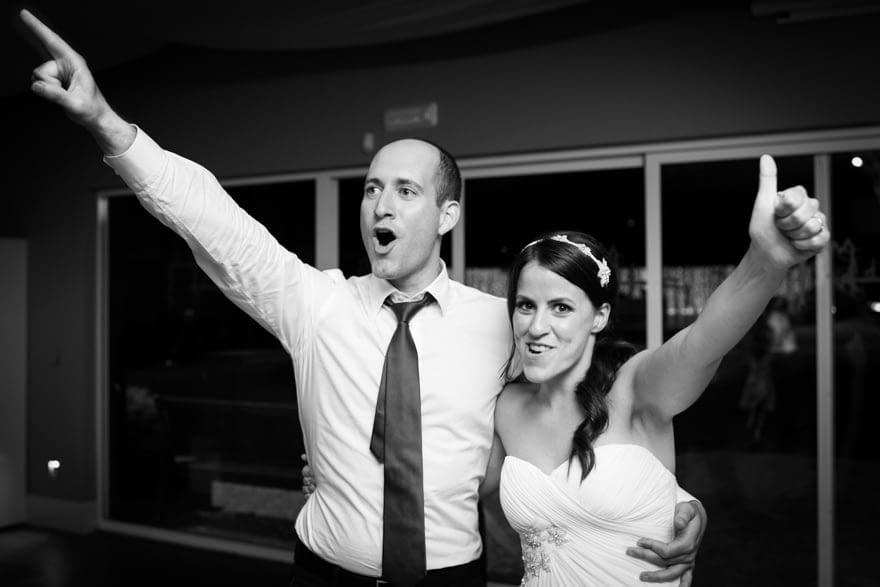 Baile durante una boda en el Pazo da Touza de Nigrán