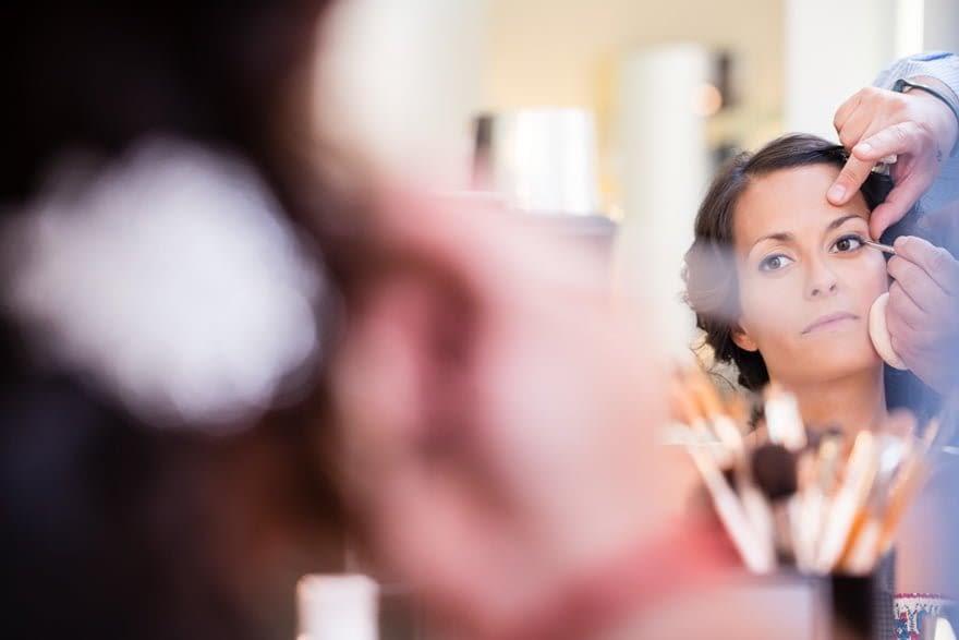 Novia maquillada por Pedro Ares MakeUp en el día de su boda