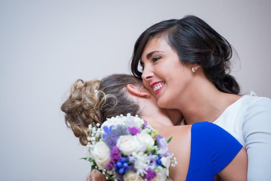 El ramo de novia lo elaboró la floristería Alba de Santa Cruz