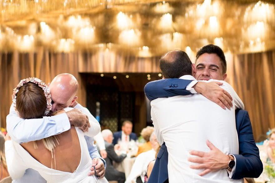 Salón de bodas de la Finca Montesqueiro de Oleiros