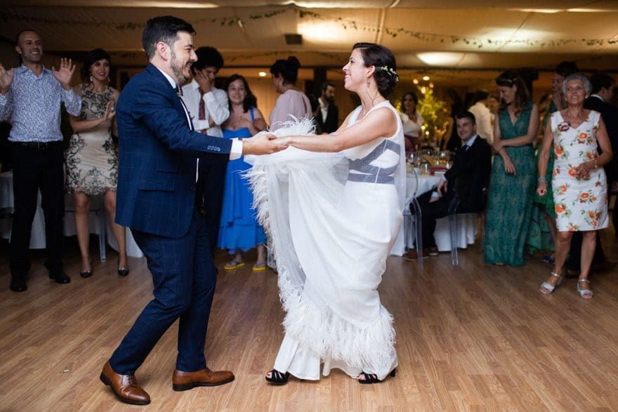 Baile de novios animado por R-Música