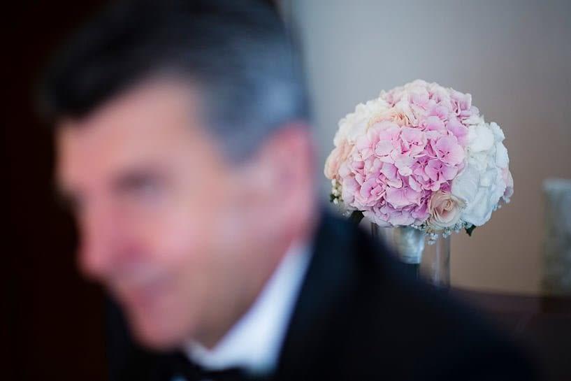 Romo de novia de Floristería Fresía de A Coruña