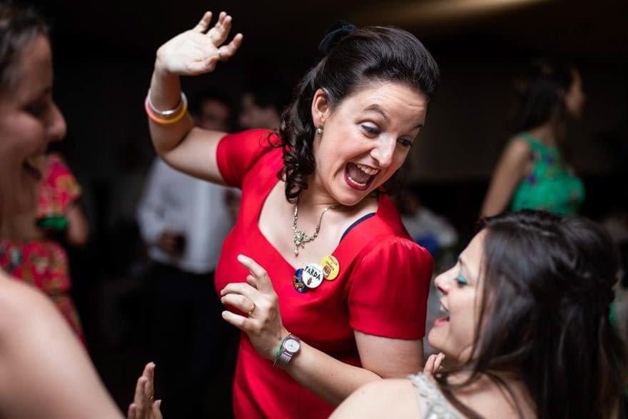 Baile durante la fiesta de una boda en el Pazo La Buzaca