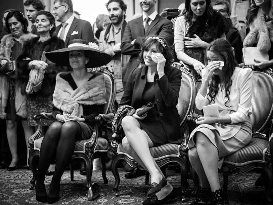 Fotoperiodismo de boda en Santiago de Compostela