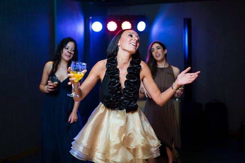 Baile en una boda el Pazo de Santa Cruz de Mondoi