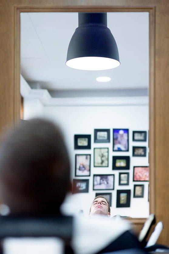 Novio en La barbería de Matogrande