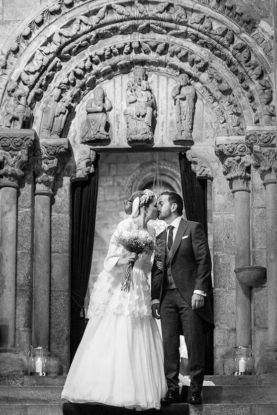 Boda en la Catedral de Santiago de Compostela en la Capela Capilla da Corticela