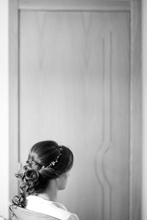 Peinado de novia por Marta Saiz de Vigo