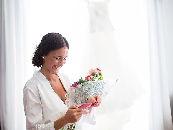 Ramo de boda de la novia por Chus Edreira