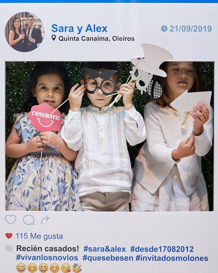 Photocall Facebook en Quinta Canaima