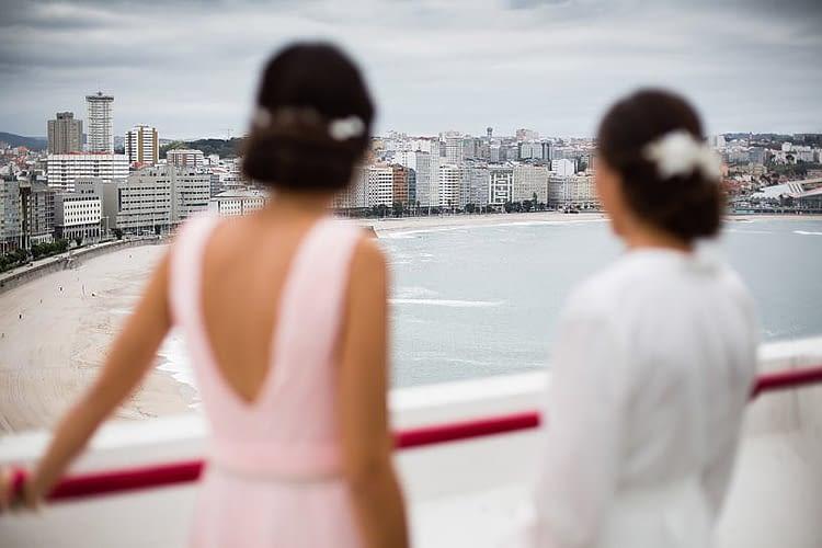 Vistas desde la suite del Hotel Meliá Maria Pita