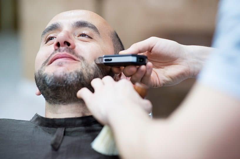 Ajuste de la barba del novio enBarborius