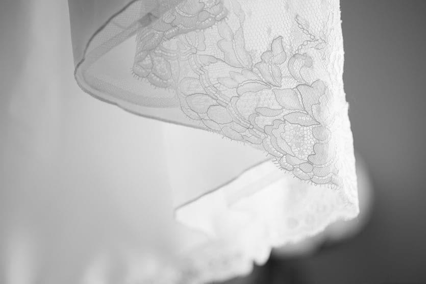 Detalle de vestido San Patrick