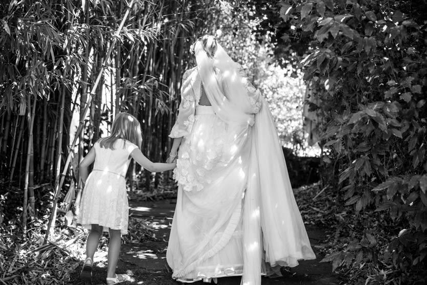 Novia en A Quinta da Auga
