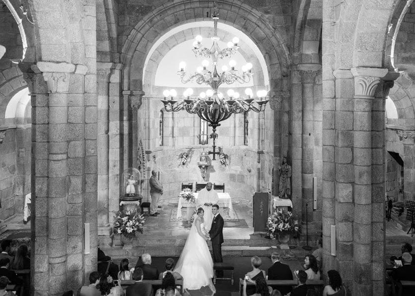 Boda en el Monasterio de San Salvador de Bergondo