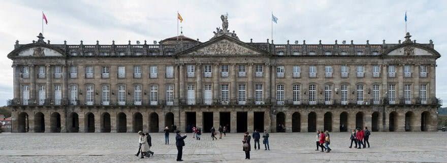 pazo de Raxoi Ayuntamiento de Santiago de Compostela