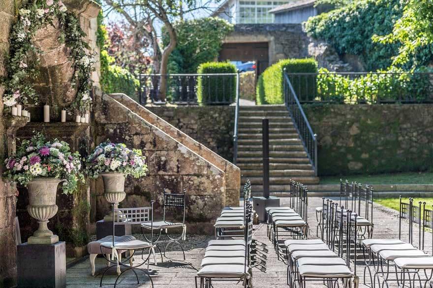 Decoración de boda en el Pazo de Cela por Love Lovely  Ombú Studio de A Coruña