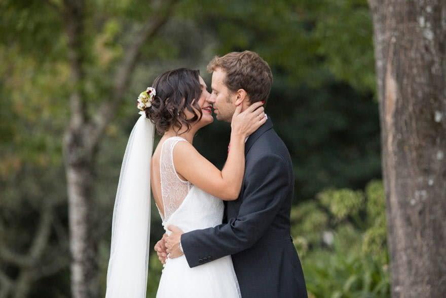 Foto de boda en el Pazo do Tambre