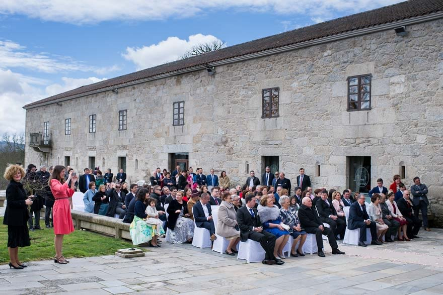 Ceremonia civil de boda en el Pazo do Piñeiro