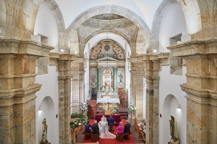 Boda en la Iglesia de Santa Elalia de Lians