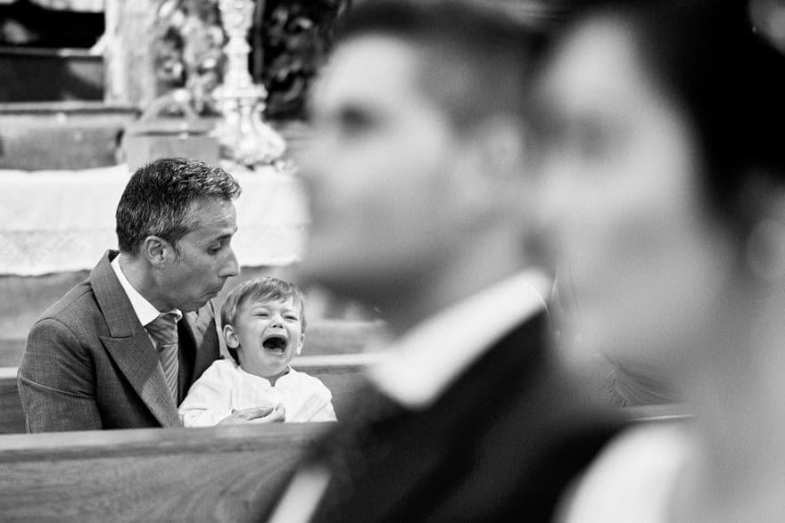 Fotoperiodismo de boda en la iglesia de Santa Eulalia de Lians en A Coruña