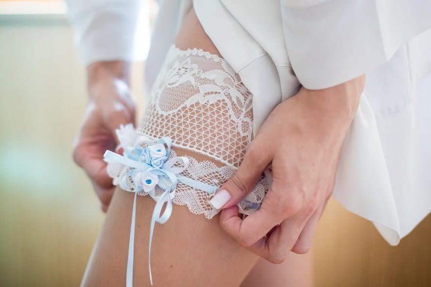 Detalle de liga de novia
