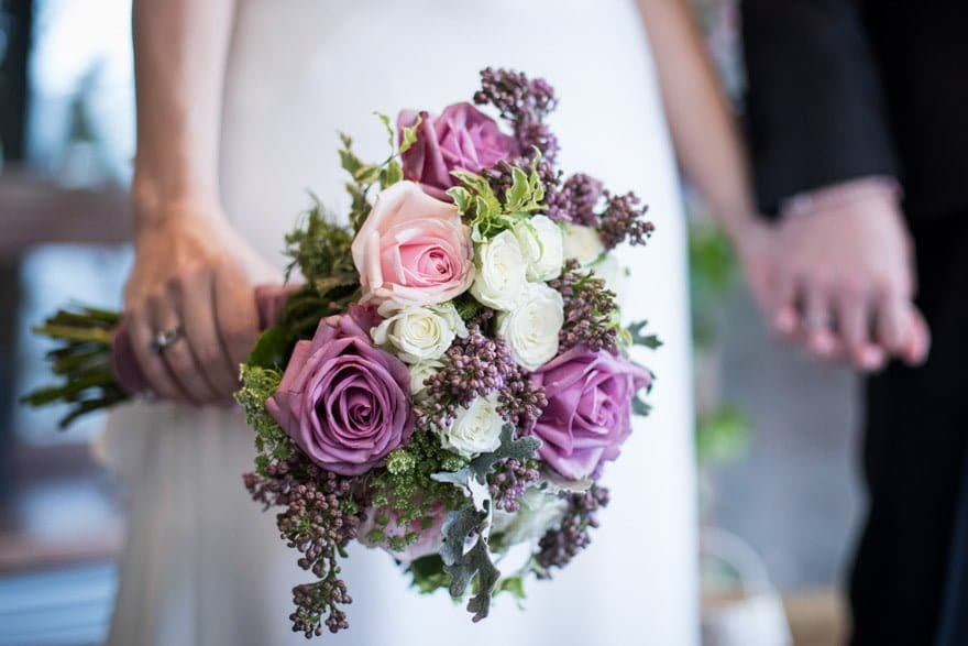 Ramo de boda de la novia realizado por Arantxa Espadas de Ponferrada.