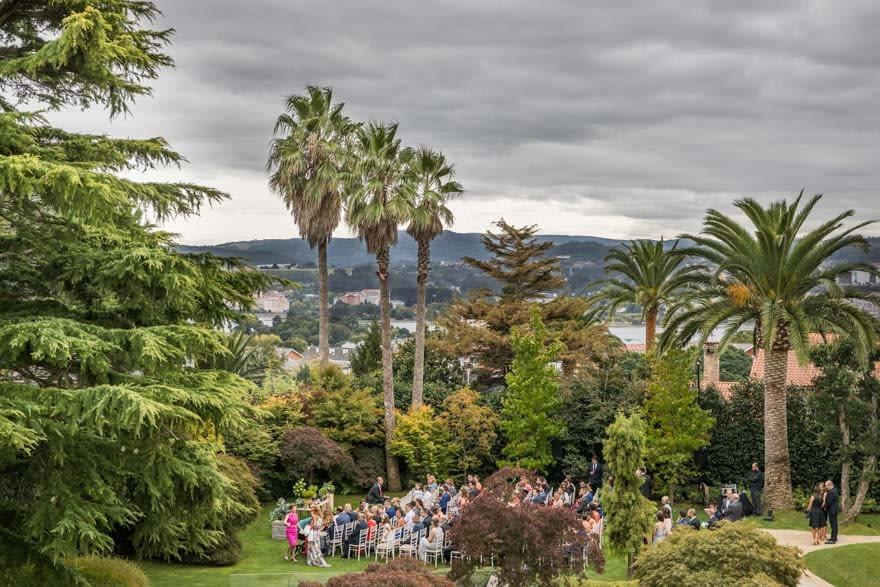 Ceremonia Civil de boda en la Finca Montesqueiro