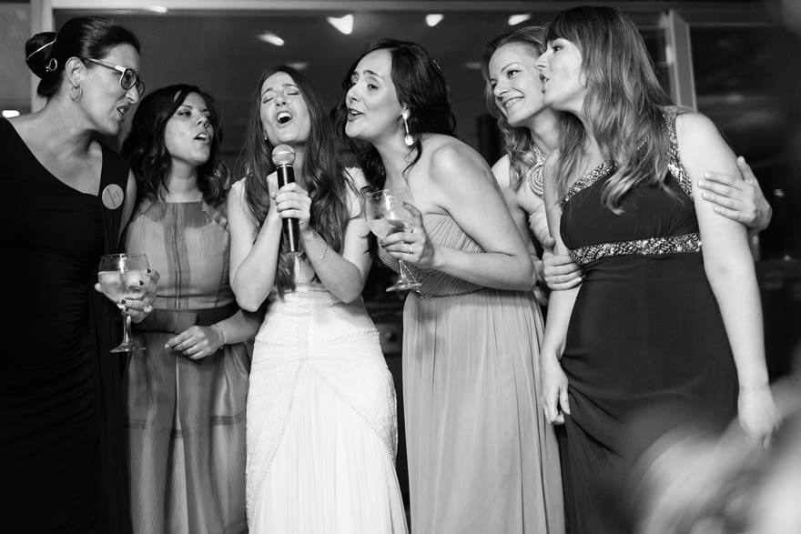 Karaoke por Mas Music en el Pazo de Cela durante una boda