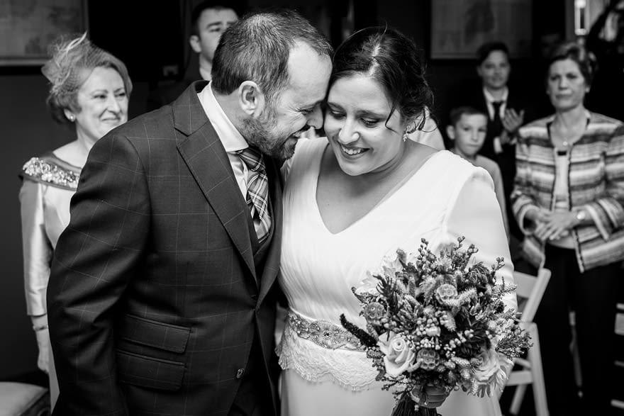 Reportaje documental de boda en el Pazo de Vilaboa