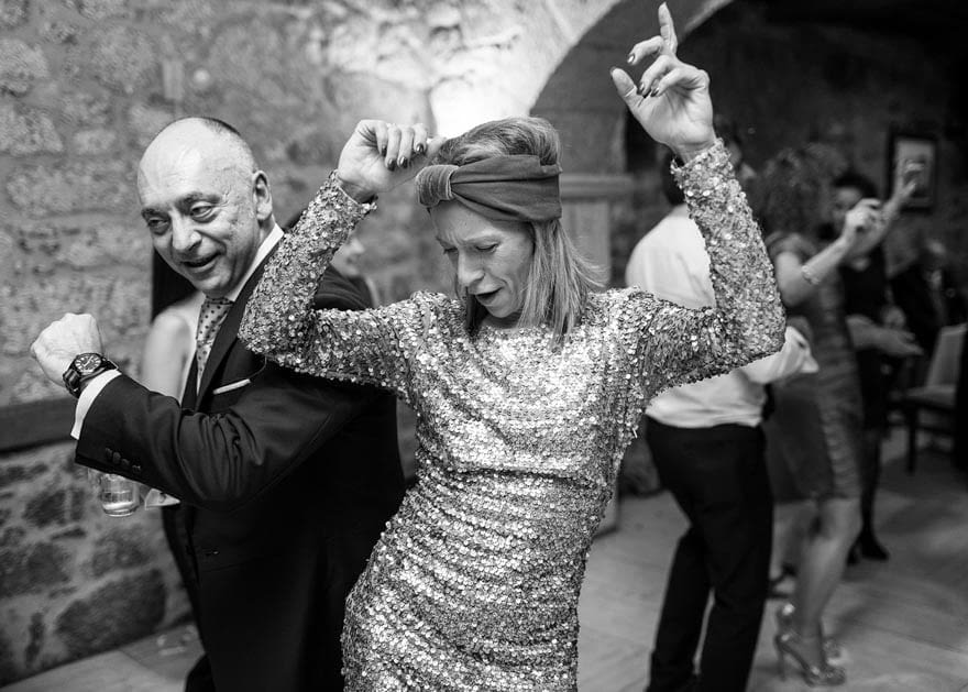 Baile en el Pazo do Piñeiro en Chantada