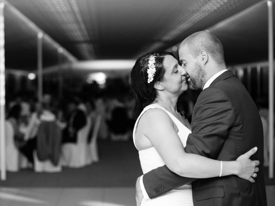 Baile de Novios en su boda en la Quinta Canaima